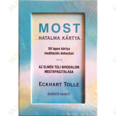 Eckhart Tolle: Most hatalma kártya