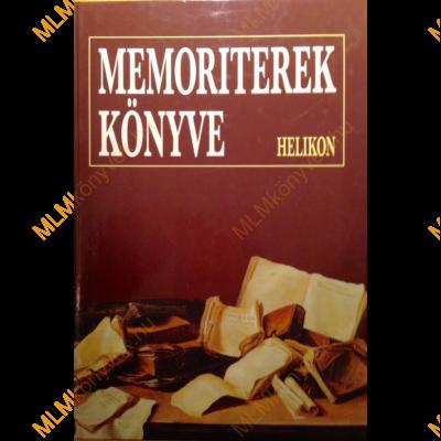 Osztovics Szabolcs és Turcsányi Márta: Memoriterek könyve