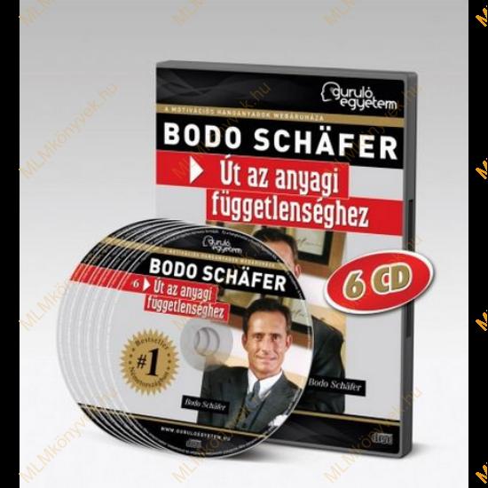 Bodo Schäfer: Út az anyagi függetlenséghez - Hangoskönyv (6 CD)