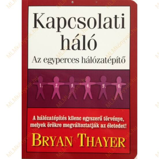 Bryan Thayer: Kapcsolati háló - Az egyperces hálózatépítő