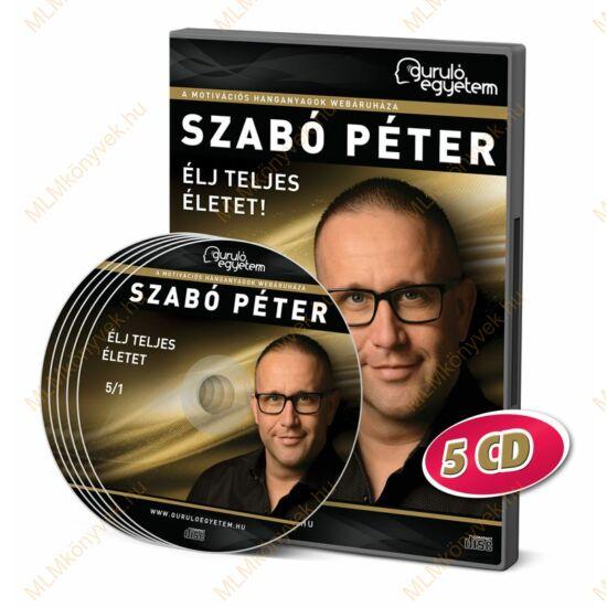 Szabó Péter: Élj teljes életet - Hanganyag (5CD)
