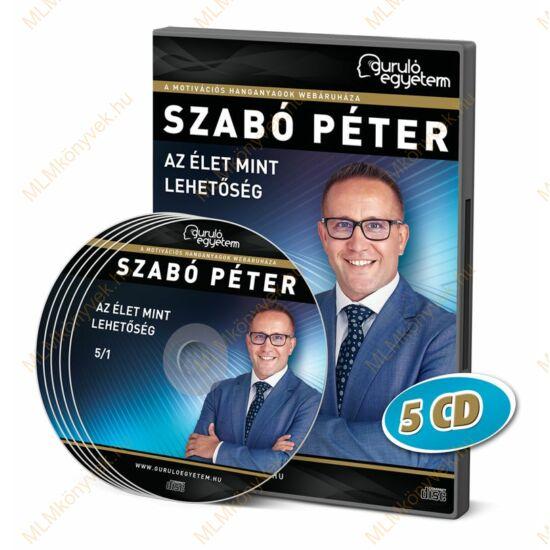 Szabó Péter: Az élet mint lehetőség - Hanganyag (5CD)